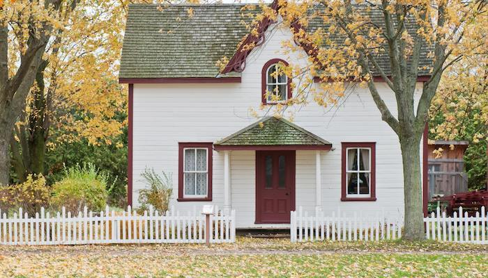 House cottage in autumn rental laws